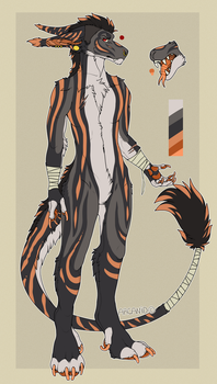 Anthro vernid Auction [CLOSED] by arcanid