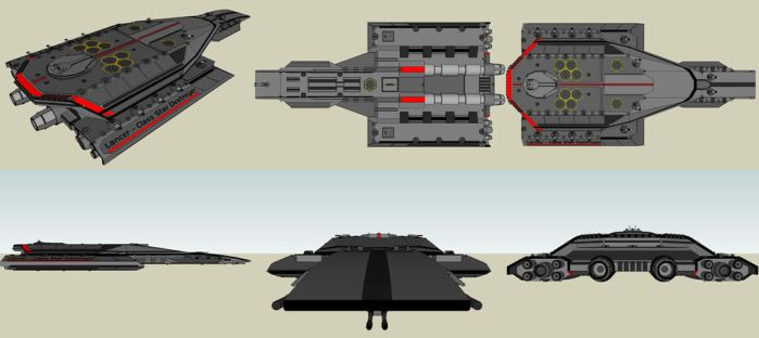 Lancer - Class Star Destroyer by SCARECROW1138