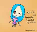 Joy the Elf by fantagerocks2013