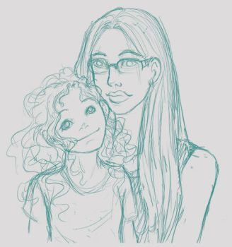 Sister and Niece by Phaiyle