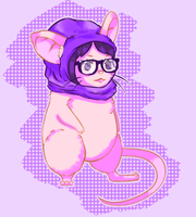 Hipster Maus by xvk