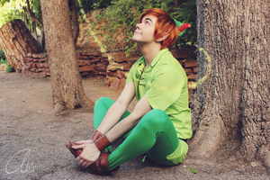 Peter Pan: Where are you going, Tink? by KuroKyuk