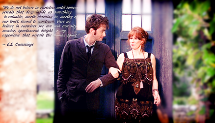Doctor Who Wallpaper: Ten and Donna by U-No-Poo