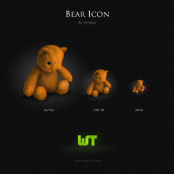 Bear and Duck Icons by Wtidus