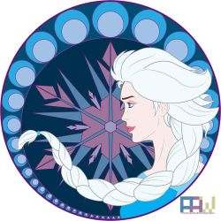 Art Nouveau - Elsa by PatrickWebster