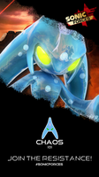 Chaos Forces Styled Phone Wallpaper by CosmicBlaster97