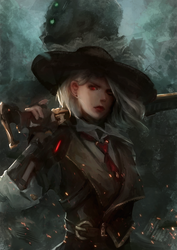 [Overwatch] Ashe by b1tterRabbit
