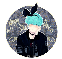 BTS: HAPPYSUGADAY by ch-eei