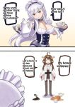 Kongou who collapses Belfast's choice