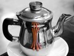 There is an octopus in the teapot by ZephyraMilie