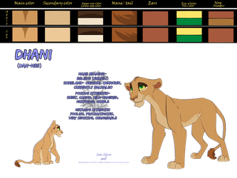 Dhani Reference Sheet by Sarn-Elyren