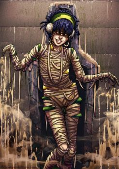 Avatar Monsters: Mummy Toph by Acaciathorn