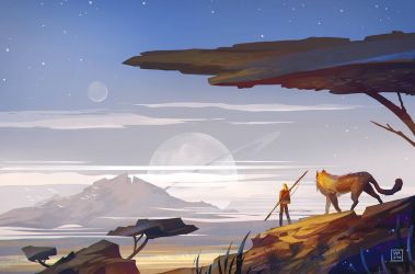 The Desert by StephanieStutz