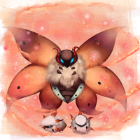 Volcarona and babbies