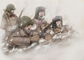 WW2 Stalingrad 1942 by Gozac1198