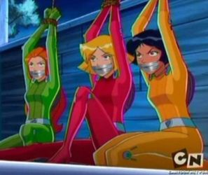 Totally Spies Bound and Tape Gagged by Goldy0123