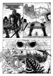 Thorn of hate - Dark Souls comic PAG 5 by thunderalchemist18