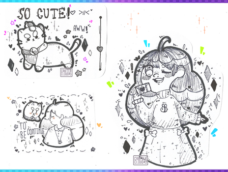 [F A N- A R T] [BEE AND PUPPYCAT!] by CrafterCloud45