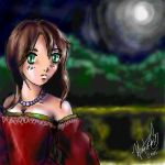 Lady in Red by hyperrrmouse