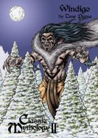 Windigo Clear Card Art - Classic Mythology II by tonyperna