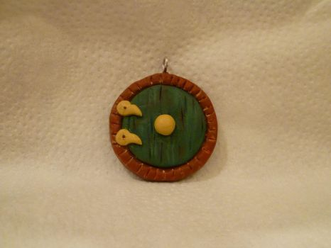 Hobbit Door Necklace by ramebir