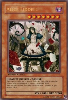 Alice Liddell card by TetsuiArikado