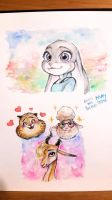 Zootopia - Nice friends by AirinNoSekai