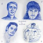 Sketchdump - portraits by Rom1-123
