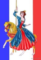 La plus belle dame de France by Larocka84