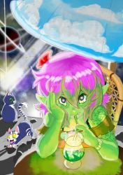 Hollidays in space by Bloodysamy