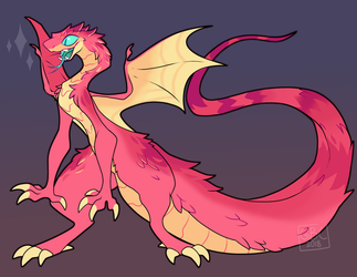Noodle Dragon by Gingerbread-C