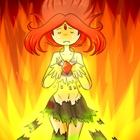 She's on fire by Rumay-Chian