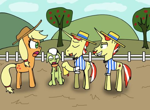 we bought your apple farm by Helsaabi