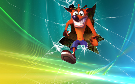Crash Bandicoot Windows 7 Wallpaper by NeoCortex726