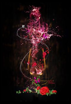 My Heart Is Drenched In Wine by Subcoultre