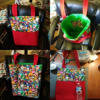 Mario and Friends Tote Bag by MechanicalApple