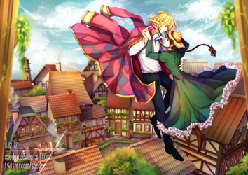 Fanart | Howl's Moving Castle by saedee