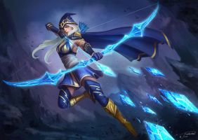 Ashe: League of Legend by JowieLimArt