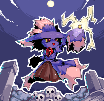 Pokemon Mismagius by super-mican