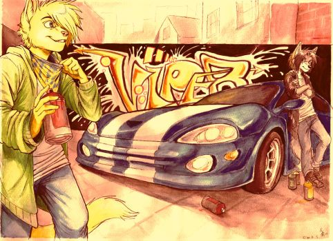 - Totally not our car - by oomizuao