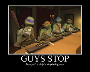 TMNT Motivational Poster (edited) by CookehzAndCream