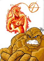 FANTASTIC FOUR COLOR by roemesquita