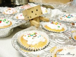 Day 017: Danbo Wants Cupcakes by twong314