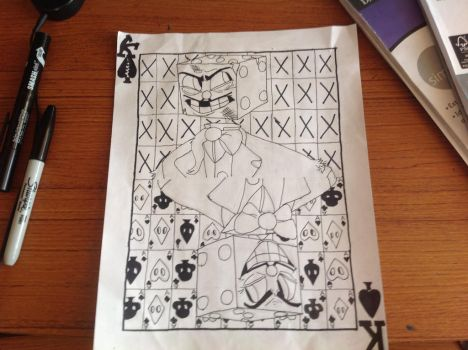 Wip King Dice Playing Card side 2 by CRichwine