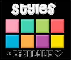 Styles_9colores_by_erandyms by SoCuteMonsterxD
