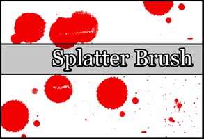 Splatter Brush by Faeth-design