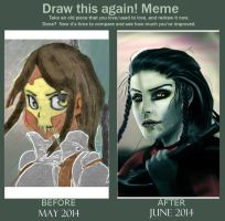 Draw This Again - Saoirse - One Month Later by Arasteia