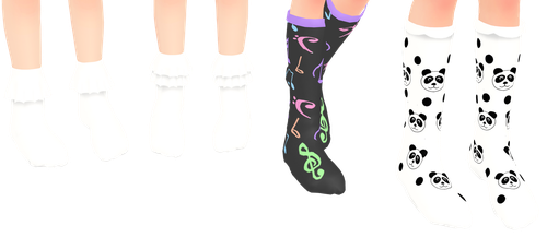 MMD Socks Pack Download by 9844