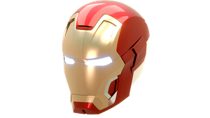 Iron man Helmet Mark 42 by newdeal666