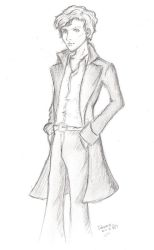 Benedict and his Billowy Coat by Linka-Neo